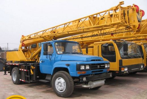 8 ton mini spider crane QY8B.5 japan