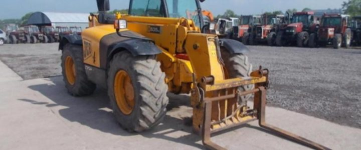 Used JCB 535 Telehandler Year-2004 for sale