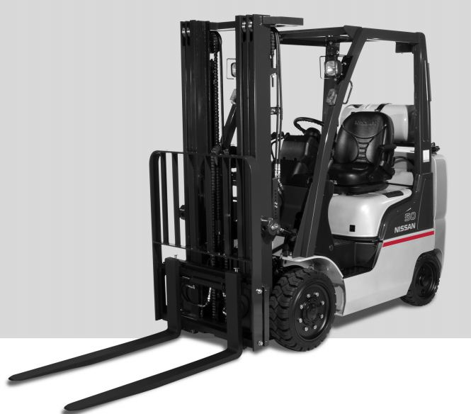 Nissan series forklifts