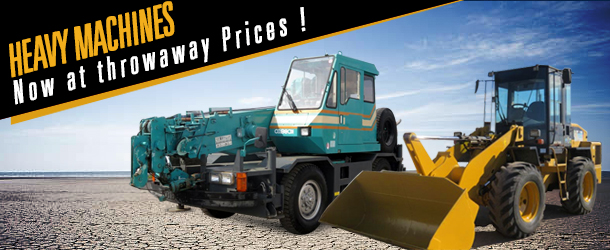 Heavy-Machinery-Sale at discounted price