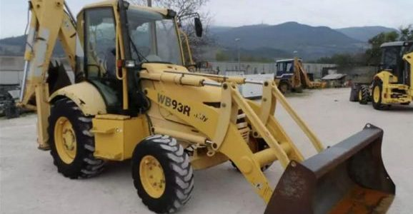 Komatsu WB93R-2 Backhoe loaders Diesel Y-2000 For Sale