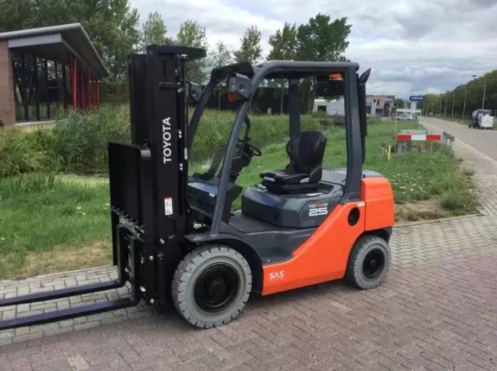 2018 Toyota Tonero Forklift 02-8 Fdf 25 for sale